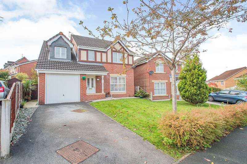4 Bedrooms Detached House for sale in Greendale Drive, Radcliffe, M26