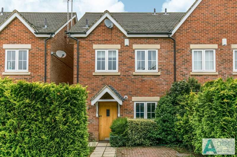 3 Bedrooms Semi Detached House for sale in Olivers Way, Hertford Heath, Hertford, SG13