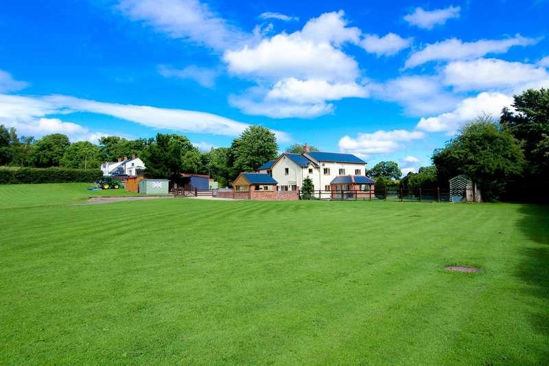 4 Bedrooms Detached House for sale in Tram Cottage, Tram Lane, Llanfrechfa, Cwmbran