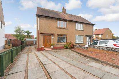 3 Bedrooms Semi Detached House for sale in Wilson Drive, Bannockburn