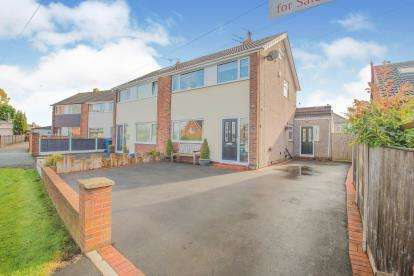 3 Bedrooms Semi Detached House for sale in Deerpark Road, Pike Hill, Burnley, Lancashire