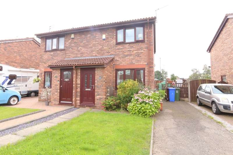 2 Bedrooms Semi Detached House for sale in Ashlands Drive, Audenshaw, Manchester, M34