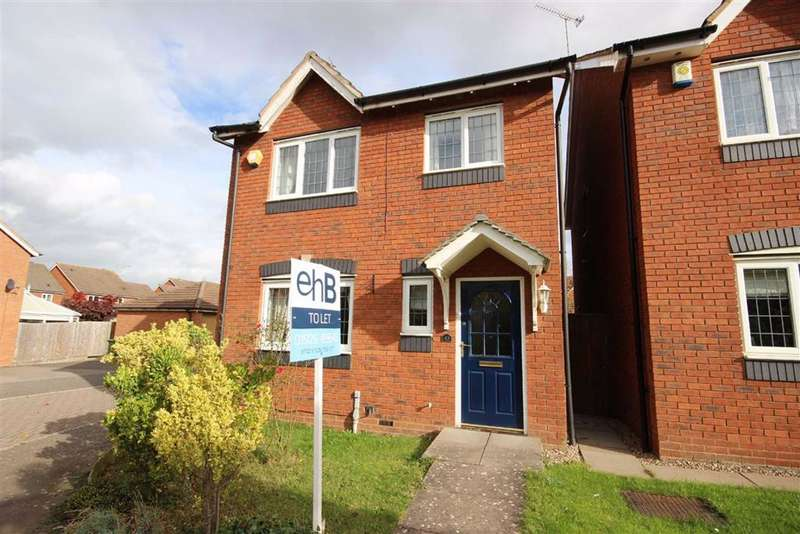 3 Bedrooms Detached House for rent in Plantaganet Park, Warwick Gates, Warwick, CV34