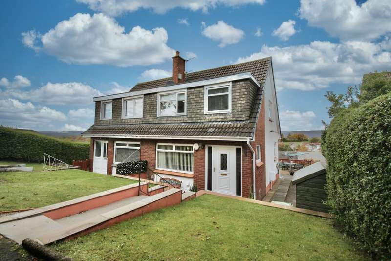 3 Bedrooms Semi-detached Villa House for sale in Dene Walk, Bishopbriggs, G64 1LQ