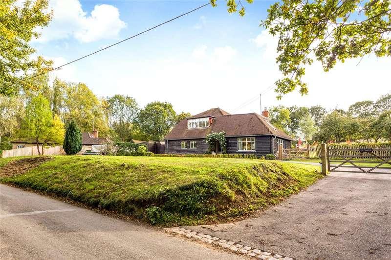 4 Bedrooms Detached House for sale in Tinkerpot Lane, West Kingsdown, Sevenoaks, Kent, TN15