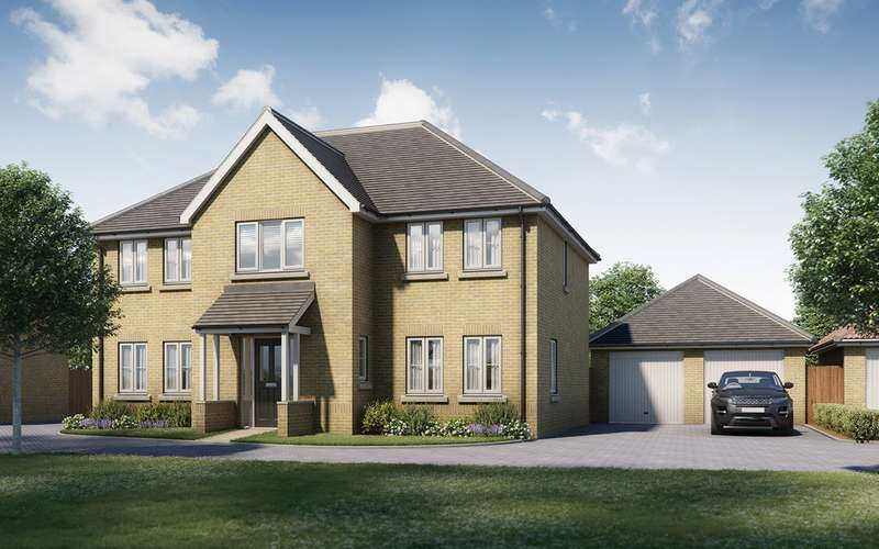 5 Bedrooms Detached House for sale in Four Elms Place, Chattenden, Rochester, Kent, ME3