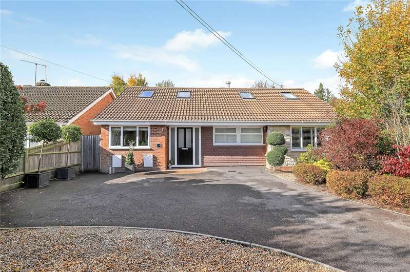 4 Bedrooms Detached House for sale in Springvale Road, Kings Worthy, Winchester, SO23