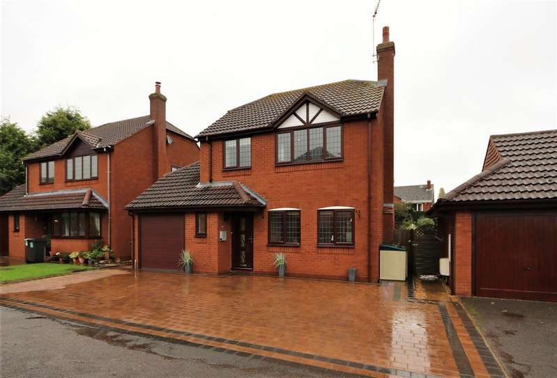 4 Bedrooms Detached House for sale in Flavel Court, Austrey, CV9 3NS
