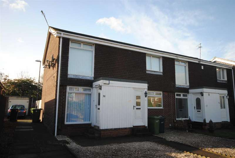 2 Bedrooms Flat for rent in Manston Close, Moorside, Sunderland