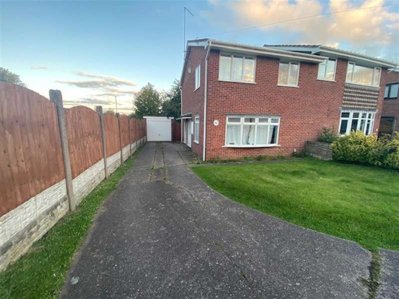 3 Bedrooms Semi Detached House for rent in Upfield Way, Rugeley, WS15 2NX