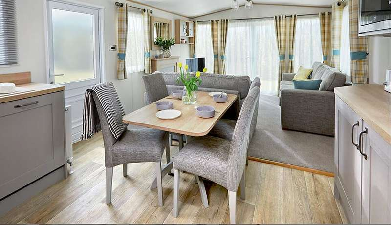 2 Bedrooms Lodge Character Property for sale in Rivers Edge Holiday Home Lodge Park, North Yorkshire