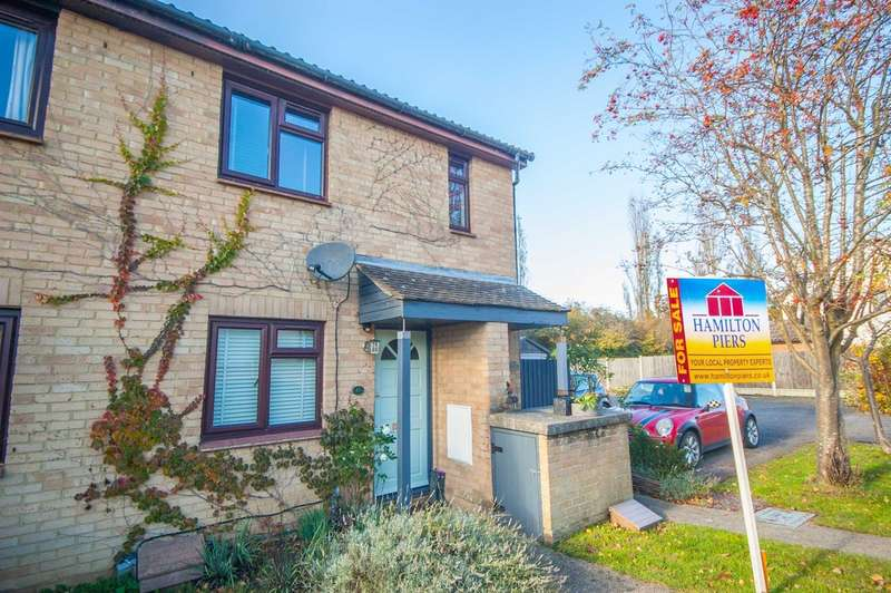 1 Bedroom Maisonette Flat for sale in Tugby Place, Newlands Spring, Chelmsford, CM1