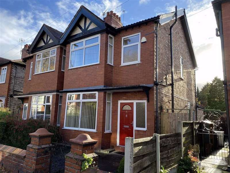 3 Bedrooms Semi Detached House for sale in Daresbury Road, Chorlton
