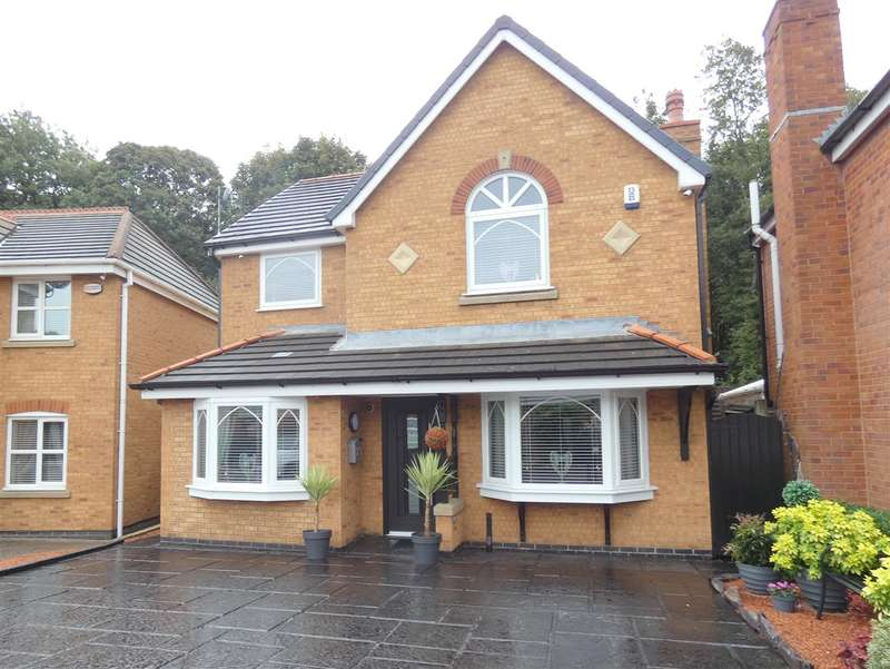 4 Bedrooms Detached House for sale in Smithford Walk, Tarbock Green, Liverpool