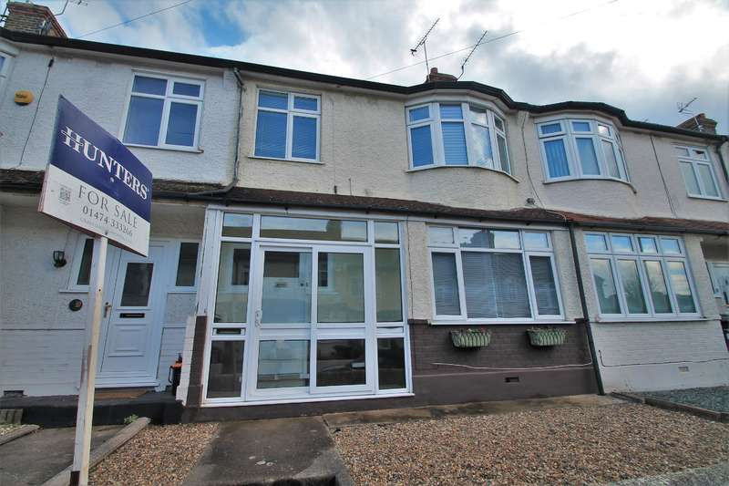 3 Bedrooms Terraced House for sale in Pinnocks Avenue, Gravesend, DA11 7QD