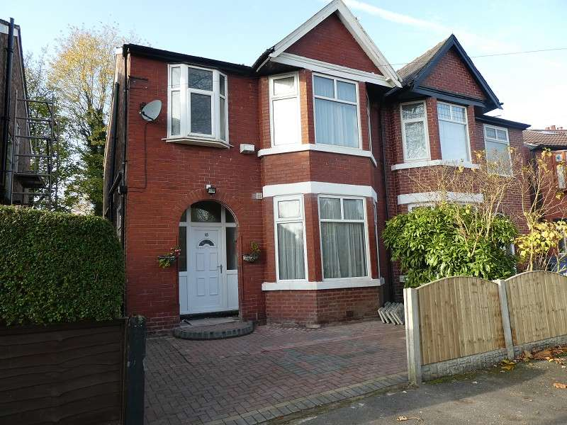 3 Bedrooms Semi Detached House for sale in Park Drive, Whalley Range, Manchester. M16 0AH