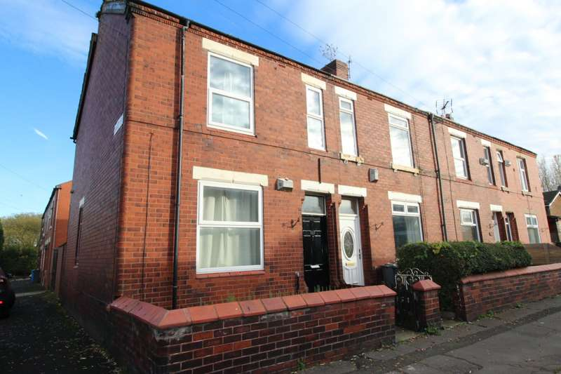 2 Bedrooms End Of Terrace House for sale in Abbey Hey Lane, Abbey Hey, Manchester, Greater Manchester, M18