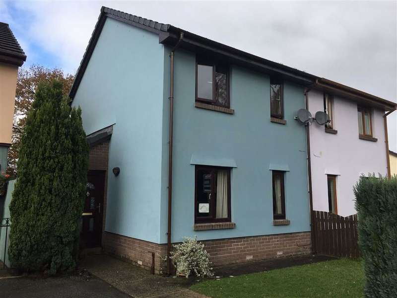 2 Bedrooms Semi Detached House for sale in Trevaughan Lodge Road, Whitland, Carmarthenshire