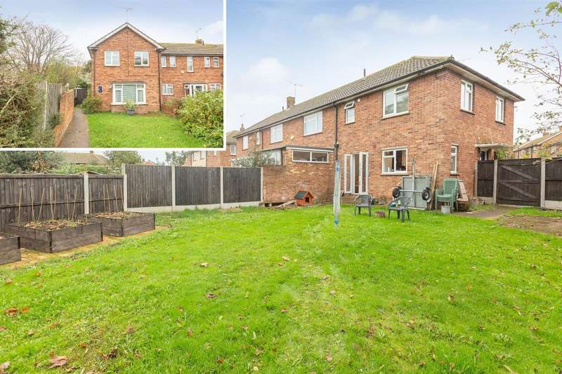 3 Bedrooms End Of Terrace House for sale in Charing Crescent, Westgate-On-Sea