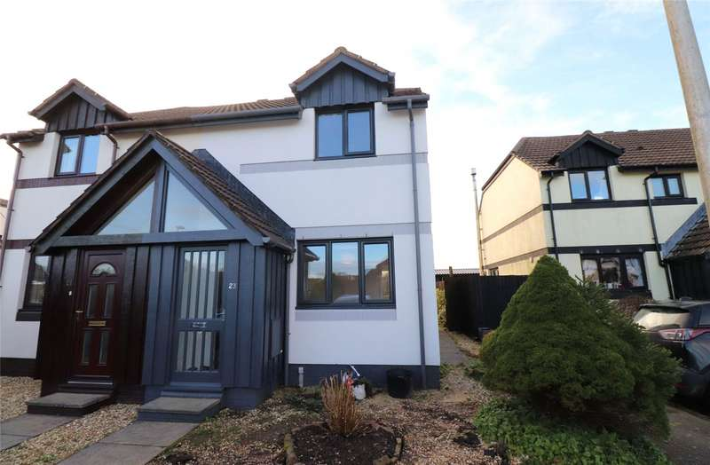 2 Bedrooms Semi Detached House for rent in Old Market Drive, Woolsery, Bideford, EX39
