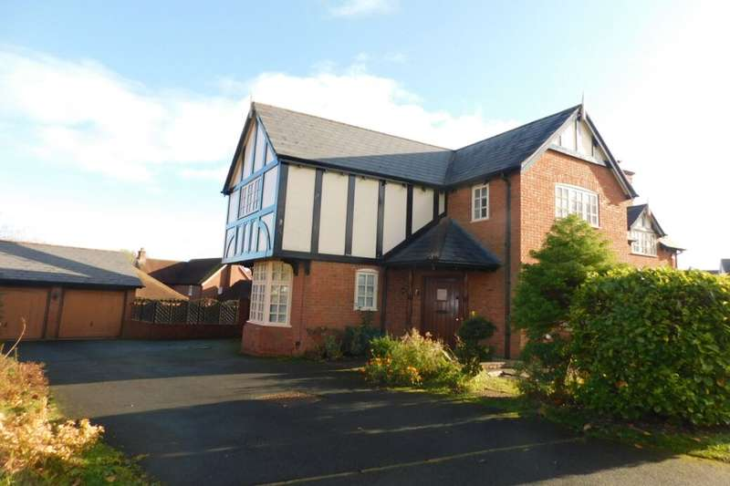 5 Bedrooms Detached House for sale in Chiltern Close, Weston, Crewe, CW2