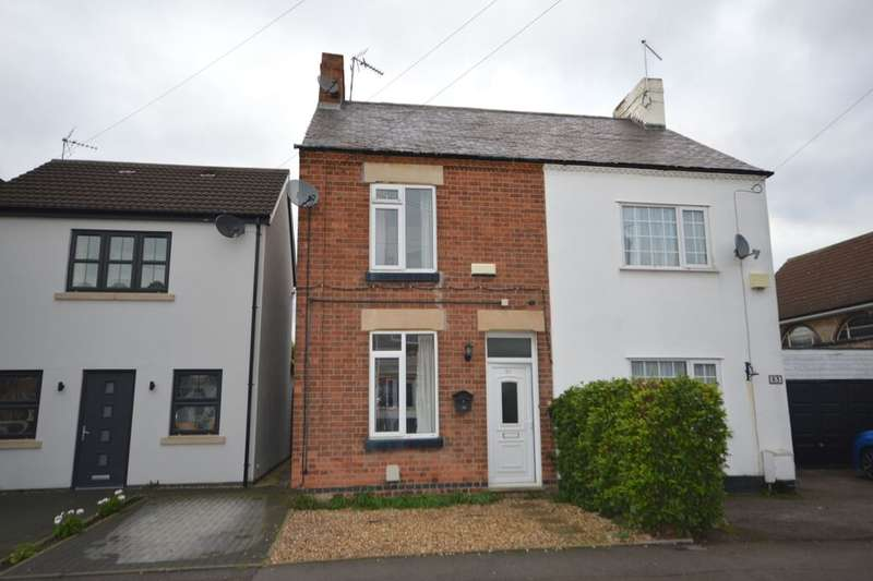 2 Bedrooms Semi Detached House for sale in Park Road, Blaby, Leicester, LE8