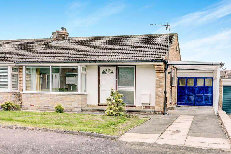 2 Bedrooms Semi Detached Bungalow for rent in Eddrington Grove, Chapel House, Newcastle Upon Tyne, NE5