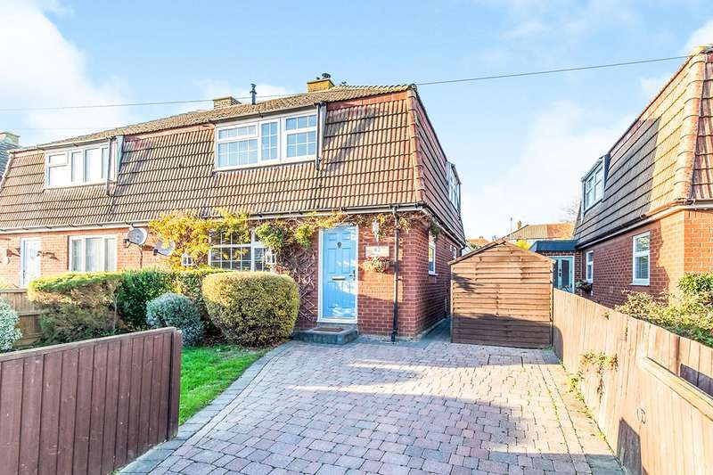 3 Bedrooms Semi Detached House for sale in Wylie Road, Hoo, Rochester, Kent, ME3