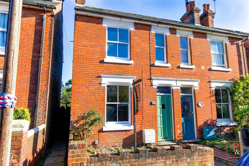 3 Bedrooms Semi Detached House for sale in Scarletts Road, Old Heath, Colchester CO1