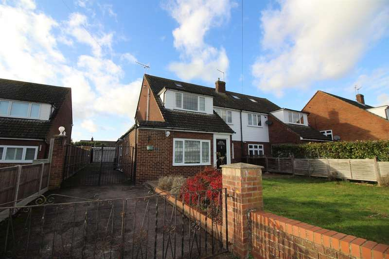 4 Bedrooms Semi Detached House for sale in Goffs Crescent, Goffs Oak, Waltham Cross