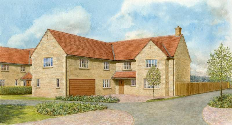 5 Bedrooms Detached House for sale in Plot 2 - Ash House, The Wood Yard, Colsterworth
