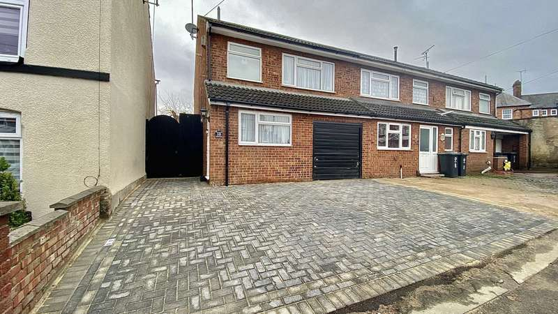 3 Bedrooms End Of Terrace House for sale in Washbrook Road, Rushden