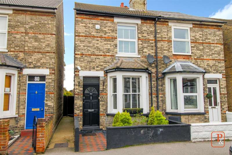 3 Bedrooms Semi Detached House for sale in Morant Road, New Town, Colchester CO1