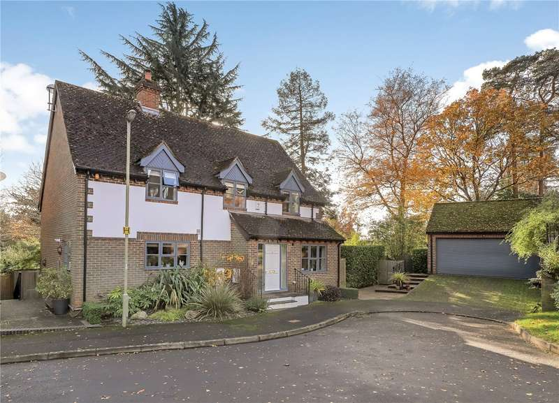 4 Bedrooms Detached House for sale in Deansfield Close, Romsey, SO51