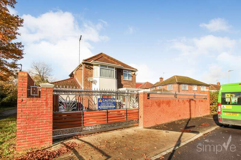 3 Bedrooms Detached House for sale in Bedwell Gardens, Hayes, UB3