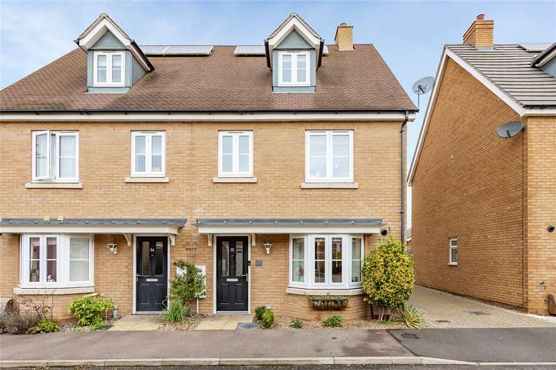 4 Bedrooms End Of Terrace House for sale in Emberson Croft, Chelmsford, CM1