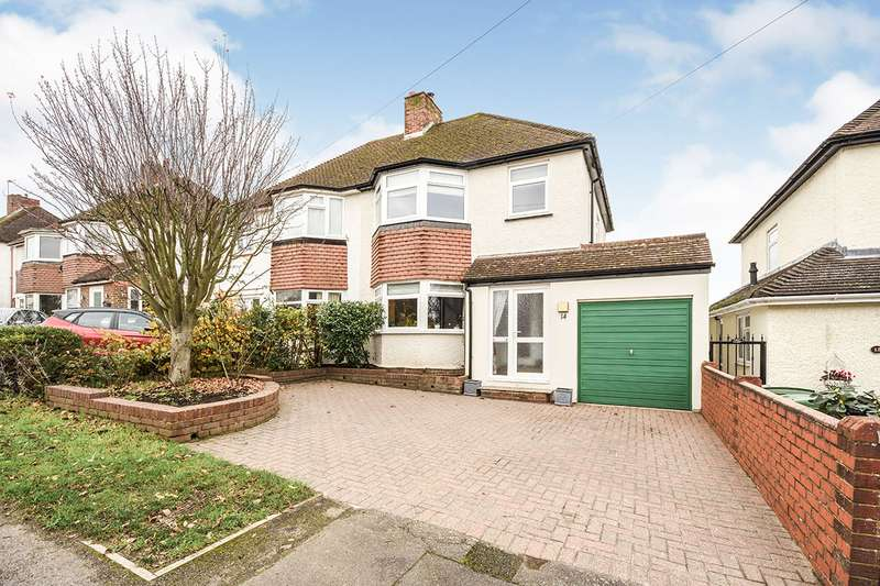 3 Bedrooms Semi Detached House for sale in Greenside, Maidstone, Kent, ME15