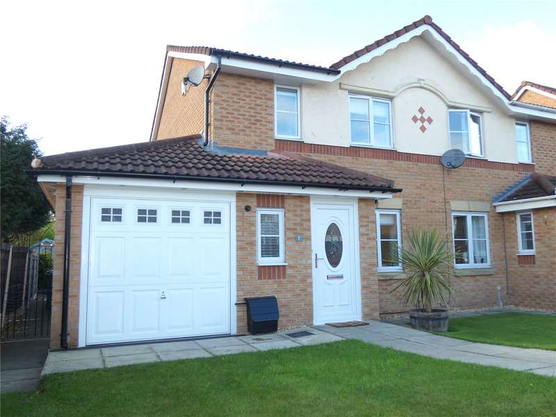 3 Bedrooms Semi Detached House for sale in Crossfield Drive, Hindley Green, Wigan, WN2