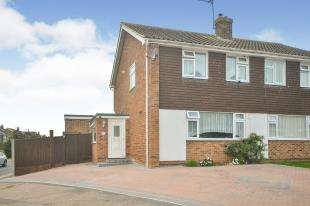 4 Bedrooms Semi Detached House for sale in Meadow Road, Sturry, Canterbury, Kent
