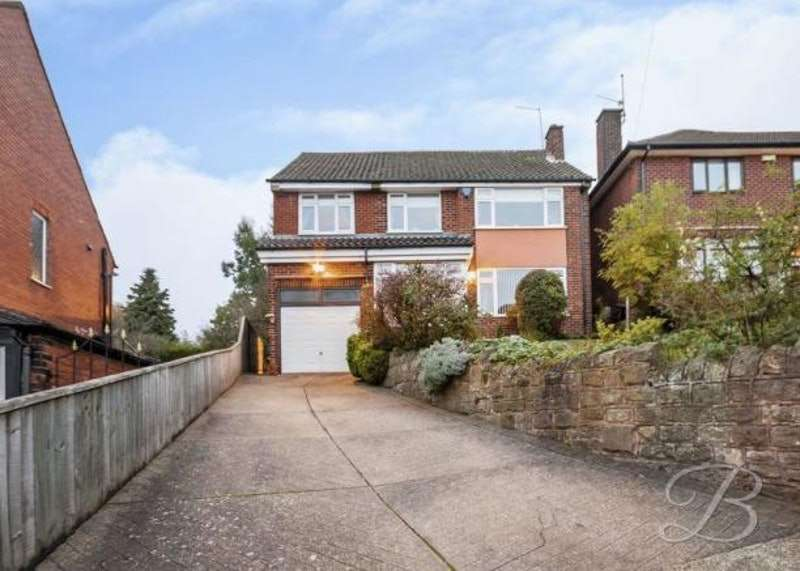 5 Bedrooms Detached House for sale in Berry Hill Road, Mansfield, Nottinghamshire, NG18