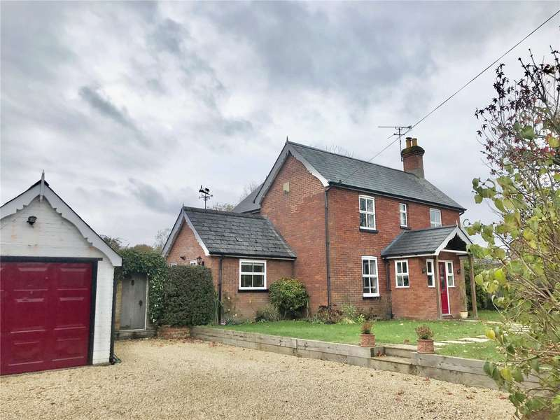 4 Bedrooms Detached House for sale in Crawley Hill, West Wellow, Romsey, SO51