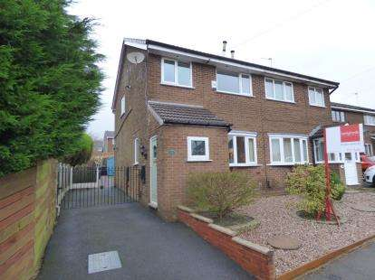 3 Bedrooms Semi Detached House for sale in Grassington Drive, Burnley, Lancashire