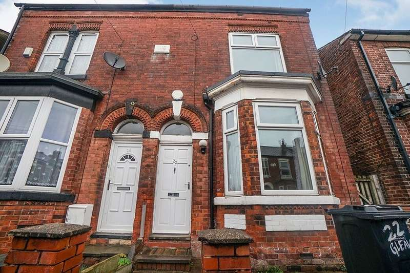 2 Bedrooms Semi Detached House for rent in Gleaves Road, Eccles, Manchester, M30