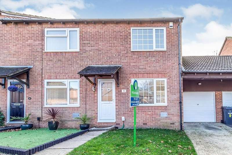 2 Bedrooms Semi Detached House for rent in Woodbury Road, Walderslade Woods, Chatham, ME5