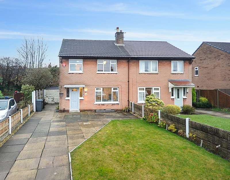 3 Bedrooms Semi Detached House for sale in Wentworth Road, Ashton-in-Makerfield, Wigan, WN4