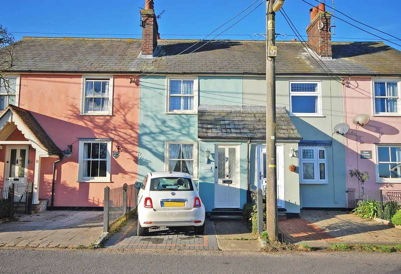 2 Bedrooms Terraced House for sale in Gore Terrace, Rayne, Braintree, CM77