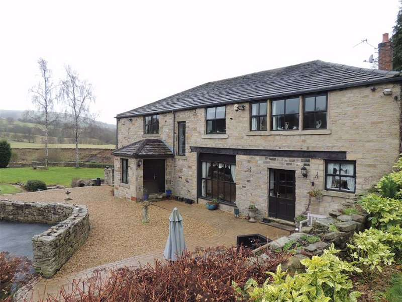 6 Bedrooms Detached House for sale in Hodge Lane, Broadbottom, Hyde