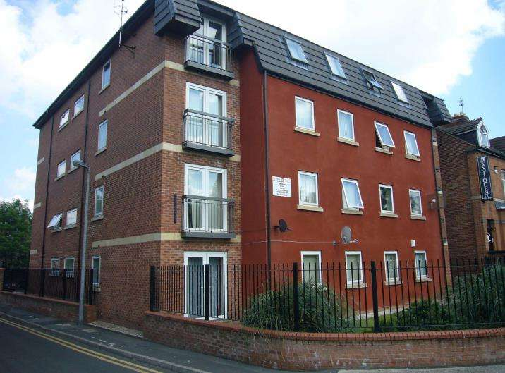 2 Bedrooms Flat for rent in Quince House, Milton Place, Salford