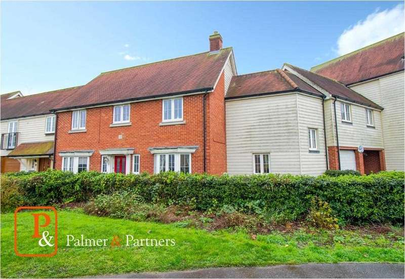 5 Bedrooms Link Detached House for sale in Weyland Drive, Stanway, Colchester, CO3