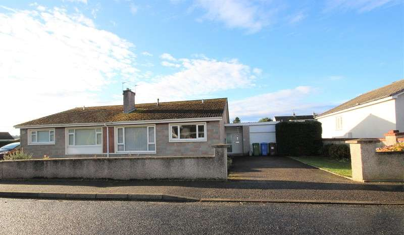 3 Bedrooms Semi Detached Bungalow for sale in 20 Lochy Road, Lochardil, Inverness, IV2 4ES